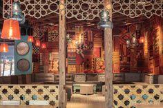 Divan Turkish restaurant by Corvin Cristian & Matei Niculescu, Bucharest   Romania hotels and restaurants