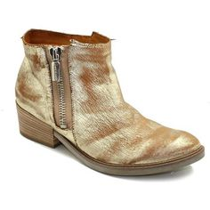 Enkellaarzen / Low boots Janet&Janet 35157 - buit CAMPERO rits gouden JANET & JANET goud 350x350