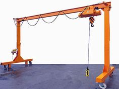 3 ton gantry crane is often found in single girder construction to fulfill various lifting requirements. Each of gantry crane will be designed as required. Metal Projects, Welding Projects, Diy Projects, Lifting Devices, Cranes For Sale, Crane Lift, Crane Design, Gantry Crane, Industrial Hardware
