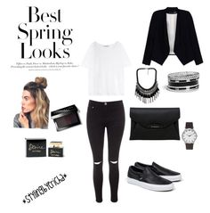 """""""Untitled #7"""" by erichavicky on Polyvore featuring Glamorous, Acne Studios, Alice + Olivia, Vans, GUESS, Topshop, Givenchy, H&M, Bobbi Brown Cosmetics and Dolce&Gabbana"""