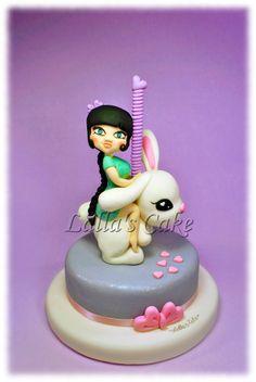 Miss Bunny , modelling, cake design / pasta di zucchero / sugar paste