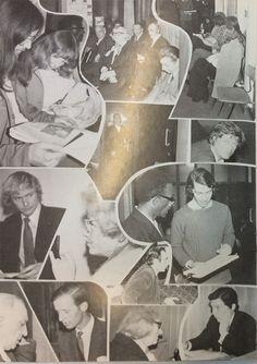 Montage of volunteers working at Toynbee Hall in the 1970s (Peter among them). Volunteer Work, Volunteers, 1970s, History, Black People, Historia