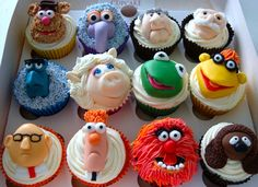 Muppet cupcakes :0)