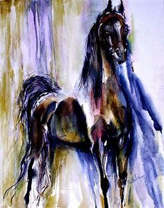 Image result for Drawings of Gaited Horses