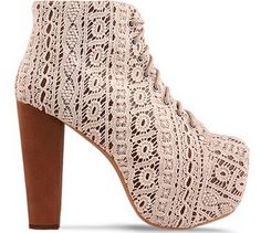 I have heels that look almost exactly like these Jeffrey Campbell Heels :)