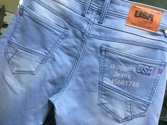 Usa Jeans, Denim Jeans Men, Tiffany, Skinny Jeans, Pocket, Sewing, Womens Fashion, How To Wear, Pants