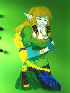 Elf wall painting :)