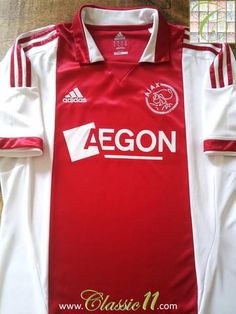 f2c523ea986 Relive Ajax s 2011 2012 season with this original Adidas home football shirt.  Football Shirts
