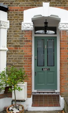 Green Victorian 4 Panel - Cotswood Doors