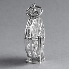 Explore our childhood and circus charm collection for a big wheel fair charm. We sell lobster clasps, split rings and link locks attachments and chains. Jewellry Box, Big Wheel, Ferris Wheel, Etsy Store, Perfume Bottles, Charmed, Charm Bracelets, Sterling Silver, Pendant