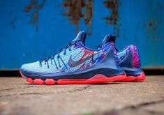"""official photos 8ae27 cb080 Nike KD 8 """"USA"""" Kd Shoes, Shoes 2017, Sock Shoes, Running"""