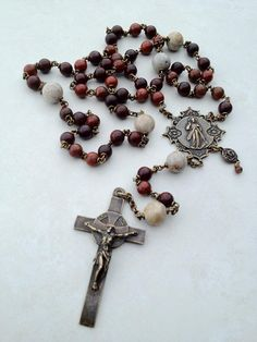 All Beautiful Catholic Beads: Merciful Heart rosary