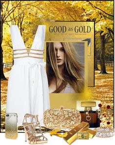 """""""Golden"""" by psuetani on Polyvore"""