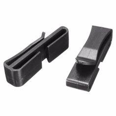 5Pcs / Lot Black Plastic Belt Clip Buckles For Backpack Strap Webbing