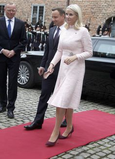 Royals & Fashion: State Visit of the President of Poland in Norway - Day 2
