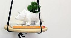 Confira o passo a passo de uma mesinha suspensa bem charmosa para decorar qualquer espaço da sua casa