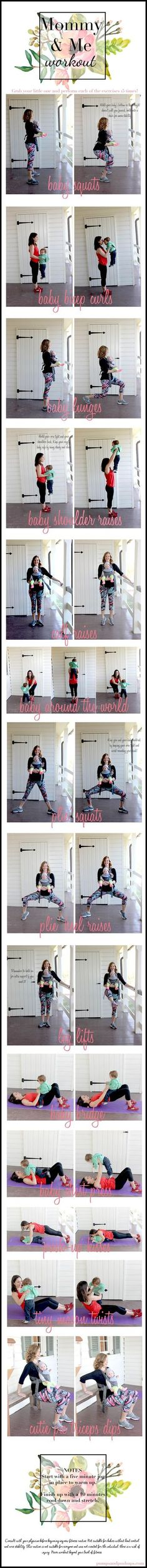 Yoga post on Mommy And Me Workout With Fabletics (Link-Up)   Pumps & Push Ups
