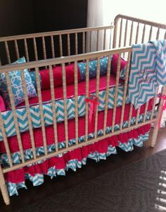 Kaslynn Candy Pink and Girlie Blue Custom by evensosweetboutique, $385.00