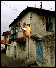 """the """"old town"""" in Xanthi, Greece"""