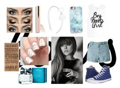 """""""#Bows"""" by emmalineavery ❤ liked on Polyvore featuring Miss Selfridge, Converse, Casetify, Beautycounter, Tommy Hilfiger and Second Nature By Hand"""
