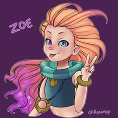 Zoe by Ronimep