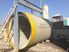 We make and supply high quality precast cement products, rcc pipes, spun pipes, cement pipes, drainage pipes as per the ISI standard.