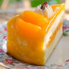 This orange glaze recipe makes a nice thick glaze that you can use on cakes, cheesecakes and other desserts.