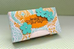 The Stampin B: Tissue Box Holder