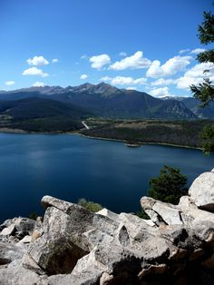 Sapphire Point on Swan mountain road between Breckenridge and Keystone Colorado. We go every year to feed the chipmunks