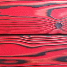 This bright red twice brushed Japanese cedar wood is a three-dimensional textured surface known as shou Sugi Ban or Japanese Cypress. This wood is Fire Resistance, weather resistance and Deep penetrating transparent oil finish to give a polished look. A perfect masterpiece for interior applications.  #Shou-Sugi-Ban #interiordesign #InteriorDesignIdeas #InteriorDesigners #architect #charredwood
