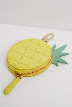 Louche+Pineapple+Clip+Purse
