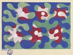 Giacomo Balla, FIORI E LINEE ANDAMENTALI (FLOWERS AND LINES PERFORMING)