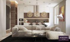 Дизайн интерьера квартиры, дома, коттеджа, помещений в Санкт-Петербурге — Азбука Дом » Дизайн квартиры на Победы 5
