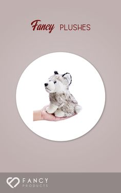 "0$ - Flexibuy 7.5"" Siberian Husky Plush Stuffed Dog Puppy Toy from Flexibuy- This toy dog has all the softness and huggability needed to become a favorite cuddle partner of children and adults alike. Ideally sized for children- the toy will inspire your toddler to take it on adventures and to pet the toy s soft fur.  Huggable and undeniably cute- the plush puppy makes the ideal gift for dog lovers of all ages. Designed for children aged one (click on picture to read more...)"