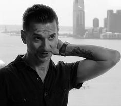 Picture of Dave Gahan. The man is like a fine wine - he just keeps getting better with age.