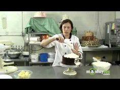 """""""Randi"""" is a great one to watch for cake decorating. This is """"Putting the Cake Together"""""""