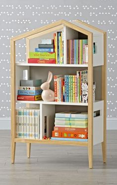 Shop Modern House Bookcase.  Our Modern House Bookcase is the dream home your favorite books have been waiting for.