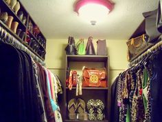 Tips and Tricks for Organizing a Closet and Printable Worksheet to Help -- Great Website - The Creativity Exchange