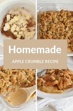 Apple Crumble Recipe Made with Stevia. This lightened up apple crumble is totally scrumptious and is made with a blend of stevia to reduce some of the sugar. There is also directions for using conventional sugar if you opt for that. Stevia Desserts, Splenda Recipes, Low Calorie Desserts, Diet Desserts, Healthy Desserts, Easy Apple Crumble, Apple Crumble Recipe, Apple Crisp, Quick Easy Desserts