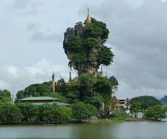 3 little known places to visit in Myanmar - hpa-ans-kyauk-ka-lat-pagoda