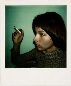 Walker Evans, Untitled, 1973 or 1974, color Polaroid photograph