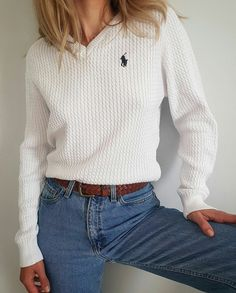 Polo Ralph Lauren for a daily look 2019 Polo Ralph Lauren for a daily look The post Polo Ralph Lauren for a daily look 2019 appeared first on Sweaters ideas. Polo Outfits For Women, Preppy Outfits, Mode Outfits, Preppy Style, Fashion Outfits, Clothes For Women, Fashion Ideas, Polo Shirt Women, Polo Ralph Lauren