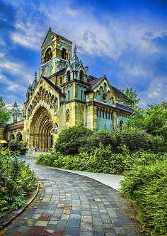 Ják church in Budapest, Hungary