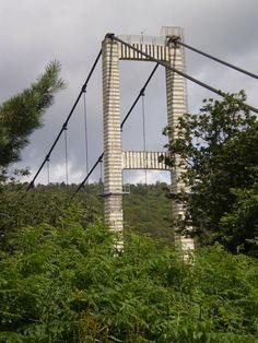 """The old """"Pont de Terenez"""" (Fr)"""