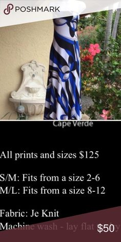 Summers Essential! NWT Jersey Knit Maxi Dress lot. Can be cut to any length and/ or style.  Made in the USA.  Retails for 125.00 each.  Feel free to ask ant questions. Aloha and Mahalo for checking out my closet! Dresses Maxi