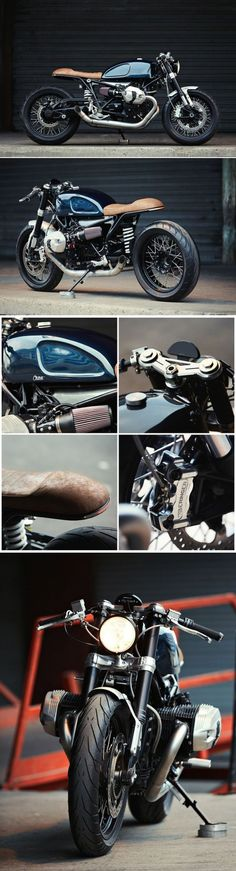 BMW R nineT Cafe Racer – Clutch Custom Motorcycles #CustomMotorcycles