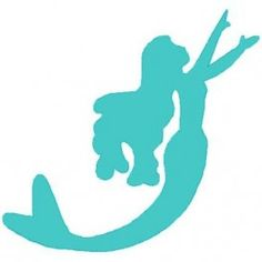 Simple Silhouette Mermaid