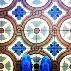 The Patisserie floor. Mosaic Art, Mosaic Tiles, Textile Patterns, Textiles, Unique Flooring, Encaustic Tile, Repeating Patterns, Tile Design, Mark Making