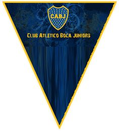 paraguita candy bar boca juniors kit imprimible Flag, Country, Llamas, Stickers, Ideas, Amor, Baby Shower Bunting, Rural Area, Science