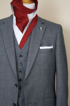 Vintage 3piece Men's Suit by Botany 500 Gray Wool by ViVifyVintage, $89.00